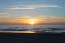 Sunrise overlooking Old Bar Beach
