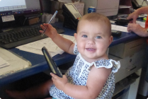New Lanis receptionist Akaliah