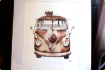 Great Kombi Artist Carol Allan.  contact: 0403513982   email: callie.m.allan@gmail.com